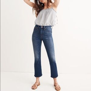 Madewell Cali Demi Boot Jeans in Danny Wash